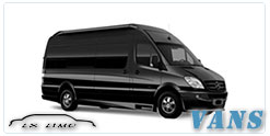 Luxury Van service in Milwaukee