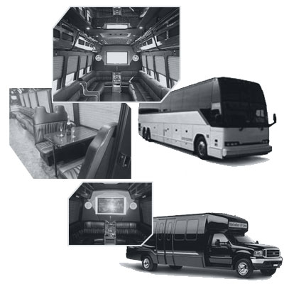 Party Bus rental and Limobus rental in Milwaukee, WI