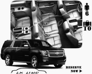 SUV Suburban for hire in Milwaukee