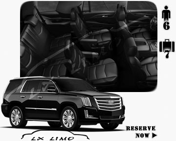 SUV Escalade for hire in Milwaukee, WI