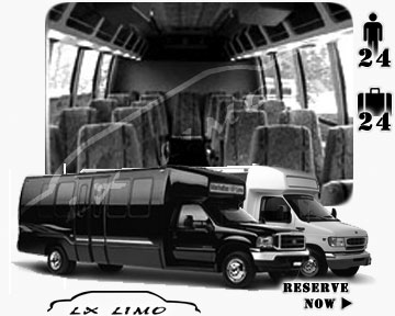Mini bus for hire in Milwaukee, WI