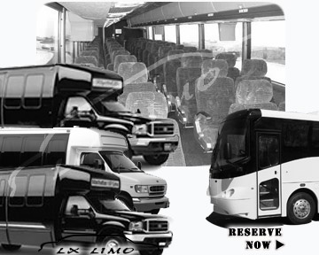 Milwaukee Bus rental 36 passenger