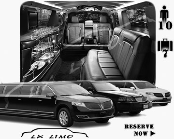 Milwaukee Town Car Stretch Limo for rental