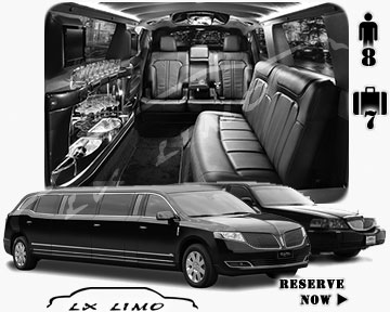 Stretch TownCar Limo for hire in Milwaukee, WI