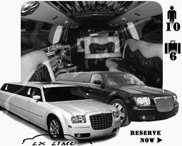 Chrysler 300 Limo in Milwaukee for wedding